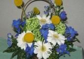 歓送迎のお花